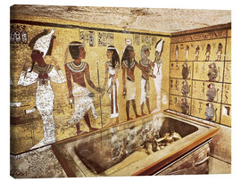 Canvas print  Grave of Tutankhamun in the Valley of the Kings
