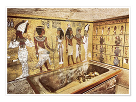 Premium poster  Grave of Tutankhamun in the Valley of the Kings