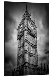 Aluminium print  Big Ben London - Melanie Viola