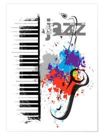 Premium poster  Jazz notes - colosseum