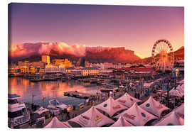 Canvas print  Victoria & Alfred Waterfront, Cape Town, South Africa - Stefan Becker