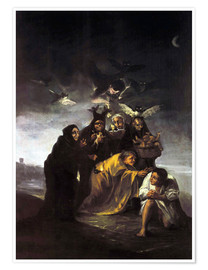 Premium poster  The Spell, The Witches - Francisco José de Goya