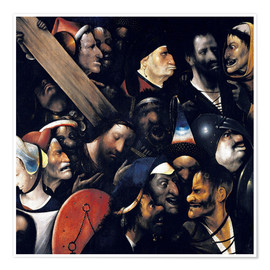 Premium poster Christ carrying the cross