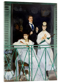 Acrylic print  The Balcony - Edouard Manet