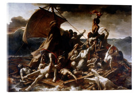 Acrylic print  Raft of the Medusa - Theodore Gericault
