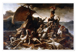 Premium poster  Raft of the Medusa - Theodore Gericault