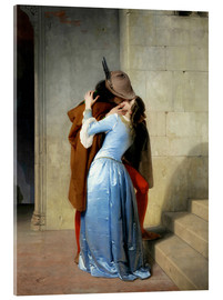 Acrylic print  The kiss - Francesco Hayez