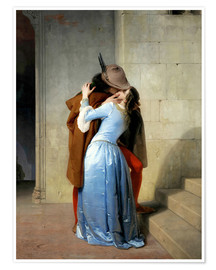 Premium poster  The kiss - Francesco Hayez