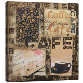 Canvas print  Cafe - Andrea Haase