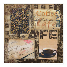 Premium poster  Cafe - Andrea Haase