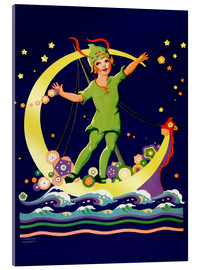 Acrylic print  Peter Pan - Lawson Fenerty