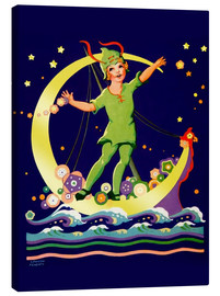 Canvas print  Peter Pan - Lawson Fenerty