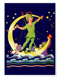 Premium poster  Peter Pan - Lawson Fenerty