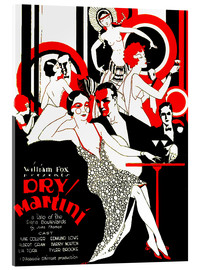 Acrylic print  dry Martini - Advertising Collection