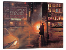 Canvas print  Blues Cafe - Georg Huber