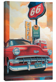 Canvas print  Route 66 Cafe - Georg Huber