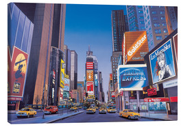 Canvas print  Times Square - Georg Huber