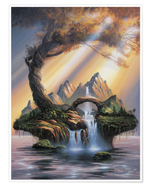 Premium poster  Dream of an Island - Georg Huber