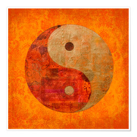 Premium poster  Yin and yang - Andrea Haase