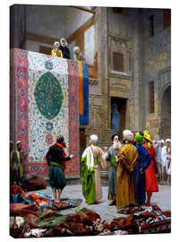 Canvas print  Carpet dealer - Jean Leon Gerome