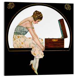 Acrylic print  The Music of Women - Clarence Coles Phillips