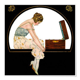 Premium poster  The Music of Women - Clarence Coles Phillips