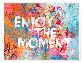 Premium poster  Enjoy the moment - Andrea Haase