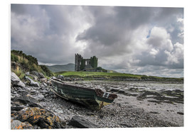 Foam board print  Ballycarbery Castle, County Kerry, Ireland - Christian Müringer