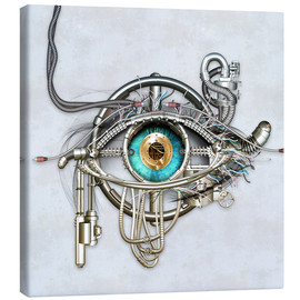 Canvas print  Mechanical eye - diuno
