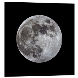 Acrylic print  Full moon - MonarchC