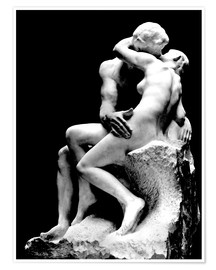 Premium poster  The Kiss - Auguste Rodin