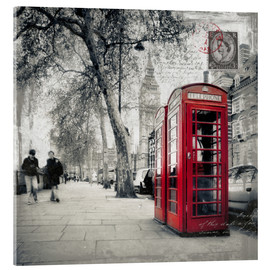 Acrylic print  Postcard From London 01 - Frank Wächter