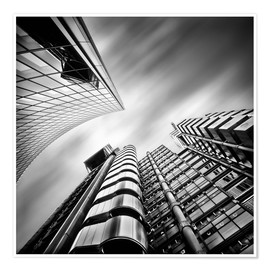 Premium poster Lloyds London | 01 (black/white)