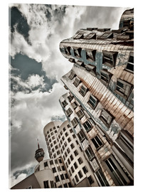 Acrylic print  Gehry Duesseldorf | 02 - Frank Wächter