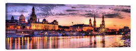 Canvas print  Panorama of Dresden - Steffen Gierok
