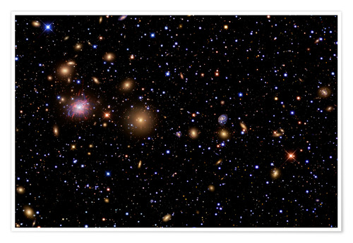 Premium poster The Perseus Galaxy Cluster