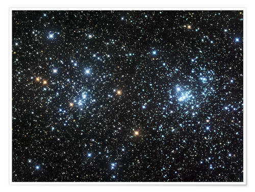Premium poster Double Cluster
