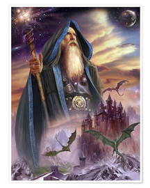 Premium poster  The high Mage - Dragon Chronicles
