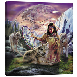 Canvas print  Dream catcher - Robin Koni