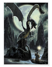 Premium poster  Dragons rock - Dragon Chronicles