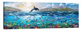 Canvas print  Ocean Panorama - Adrian Chesterman