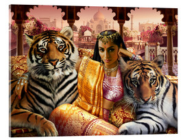 Acrylic print  Indian princess - Andrew Farley