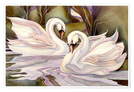 Premium poster  Together through life - Jody Bergsma