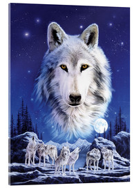 Acrylic print  Night of the wolves - Robin Koni