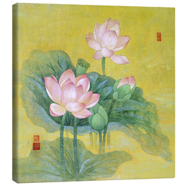Canvas print  Dream lotus - Ailian Price
