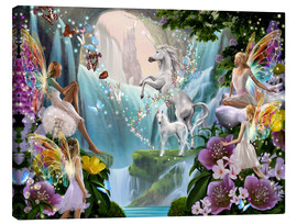Canvas print  Unicorn waterfall - Garry Walton