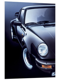 Foam board print  Black Porsche turbo - Gavin Macloud