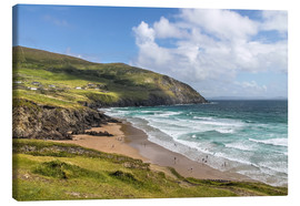Canvas print  Slea Head (County Kerry, Ireland) - Christian Müringer