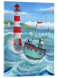 Acrylic print  Lighthouse - Peter Adderley