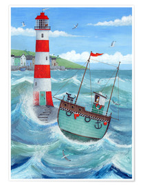 Premium poster  Lighthouse - Peter Adderley